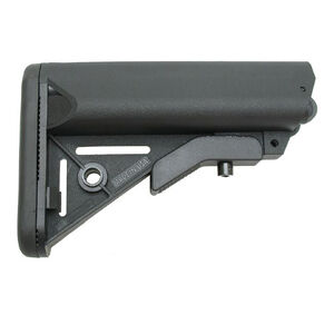 XTS AR-15 Cheek Rest Storage Compartment Stock Mil-Spec Black XTS CRSTK
