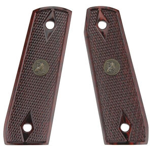 Pachmayr Ruger 22/45 Laminate Grips Checkered Rosewood