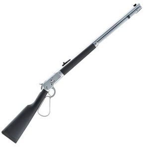 """Taylor's & Co Model 1892 Alaskan Take-Down Lever Action Rifle .44 Magnum 16"""" Barrel 7 Rounds Black Overmolded Wood Stock Matte Chrome 920.311"""