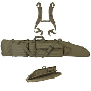 "Voodoo Tactical .50 Caliber Rifle Drag Bag 60"" Nylon OD Green 20-003404000"
