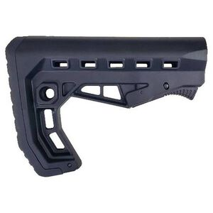 XTS AR-15 XTS-58 Skeleton Stock Mil-Spec Buffer Polymer Black