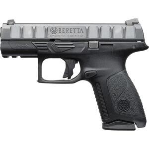"Beretta APX Centurion 9mm Luger Semi Auto Pistol 3.7"" Barrel 15 Rounds Serialized Chassis Modular Polymer Grip Frame Black"