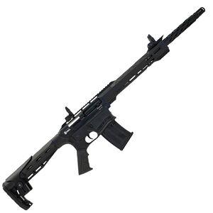 "Citadel BOSS25 12 Gauge Semi-Auto Shotgun 18.75"" Barrel 3"" Chamber 5 Rounds BUIS  Picatinny Rails Synthetic Pistol Grip Stock Black Finish"