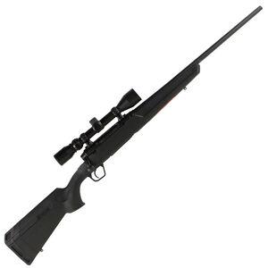 "Savage Axis XP Compact Bolt Action Rifle .223 Remington 20"" Barrel 4 Rounds Detachable Box Magazine Weaver 3-9x40 Riflescope Synthetic Stock Matte Black Finish"