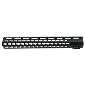 "AIM Sports LR-308 High Profile 15"" KeyMod Handguard Aluminum Black"