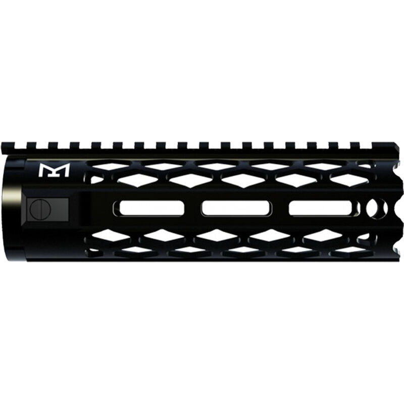 Yankee Hill Machine Black Diamond M-LOK Handguard Carbine Length Aluminum Black
