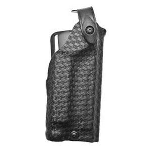Safariland 6280 SLS Mid-Ride Glock 17, 22 w/Light Level 2 Retention Right Hand Thermal-Molded Basket Black 6280-836-81
