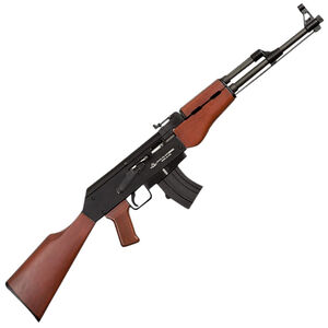 "Rock Island Armory MAK22 Semi Auto Rimfire Rifle .22 LR 18.25"" Barrel 10 Rounds Wood Stock and Grip Black Finish"