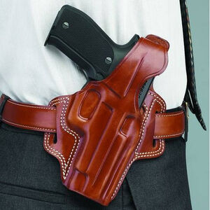 Galco FLETCH High Ride Beretta 84F Belt Holster Right Hand Leather Tan FL206