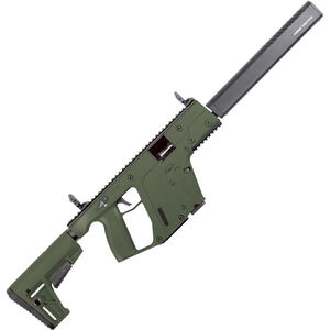 "Kriss USA Kriss Vector Gen II CRB 10mm Auto Semi Auto Rifle 16"" Barrel 15 Rounds Kriss M4 Stock Adapter/Defiance M4 Stock OD Green Finish"