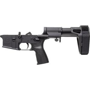 Maxim Defense MD15 AR-15 Pistol Complete Lower Receiver 5.56 NATO Mil-Spec LPK 7075 Forged Aluminum PDW Adjustable Pistol Brace Black