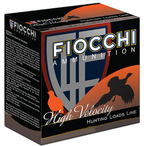 "Fiocchi High Velocity 12 Gauge Ammunition 3"" #6 1-3/4oz Lead Shot 1330fps"