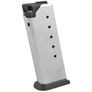 Springfield Armory XD-E Magazine .45 ACP 6 Rounds Flush Fit Steel Black XDE5006