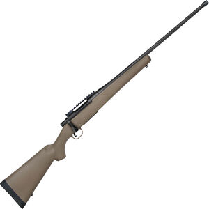 """Mossberg Patriot Predator 6.5 PRC Bolt Action Rifle 24"""" Fluted Threaded Barrel 4 Rounds FDE Synthetic Stock Matte Blued Finish"""