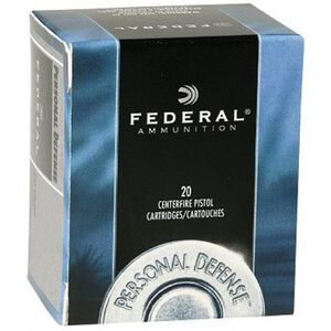 Federal Personal Defense .32 H&R Magnum Ammunition 20 Rounds JHP 85 Grain