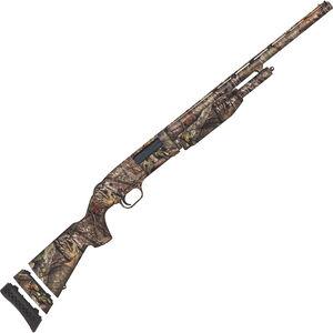 "Mossberg 510 Youth Mini Super Bantam 20 Gauge Pump Action Shotgun 18.5"" Barrel 3"" Chamber 3 Rounds Bead Sight Synthetic Stock MOBUC Camo Finish"
