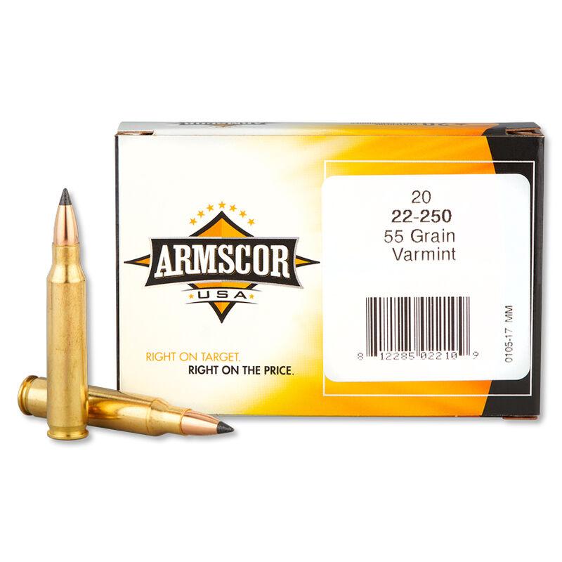 Armscor USA .223 Rem Varmint Ammunition 55 Grain Polymer Tipped 3050 fps