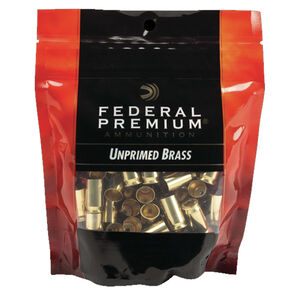 Federal Gold Medal Unprimed Brass Cases .40 Smith & Wesson 100 Count Per Bag