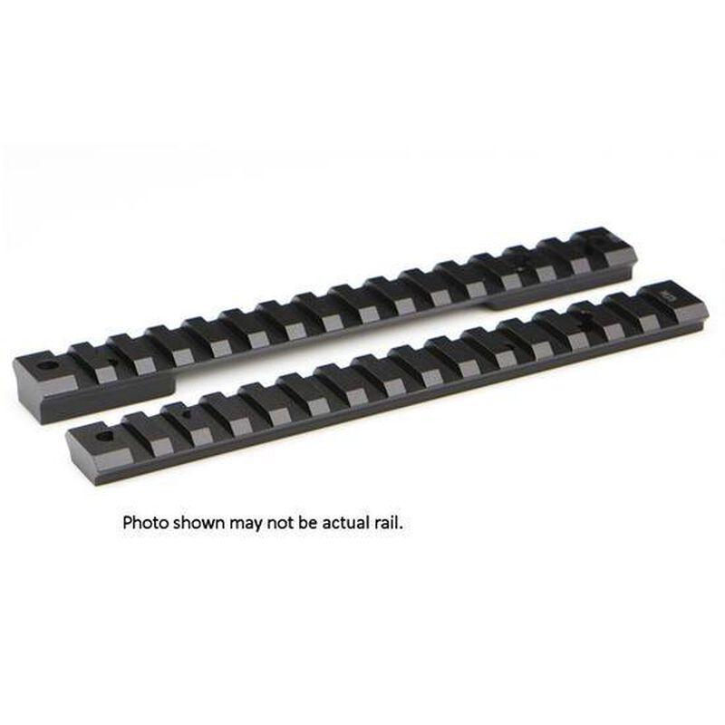 Warne Mountain Tech One Piece Picatinny/Weaver Style Scope Base Winchester Model 70 WSM Action Aluminum Matte Black