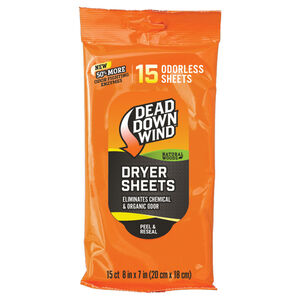 Dead Down Wind Dryer Sheets Natural Woods 15 Count