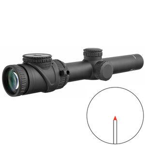 Trijicon AccuPoint 1-6x24 Riflescope Red Triangle Post Reticle 30mm Tube 1/4 MOA Adjustments Fiber Optics/Tritium Power Aluminum Housing Black