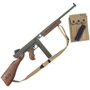 "Auto-Ordnance M1 Tanker WWII Thompson .45 ACP Semi Auto Rifle 16.5"" Barrel 30/20 Rounds Blade Front Sight/Fixed Battle Rear Walnut Furniture"
