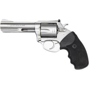 "Charter Arms Pitbull .40 S&W DA/SA Revolver 4.2"" Barrel 5 Rounds Rubber Grip Matte Stainless Finish"