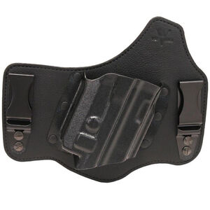 Galco KingTuk Deluxe Fits S&W M&P Shield .45 ACP IWB Right Hand Leather Black
