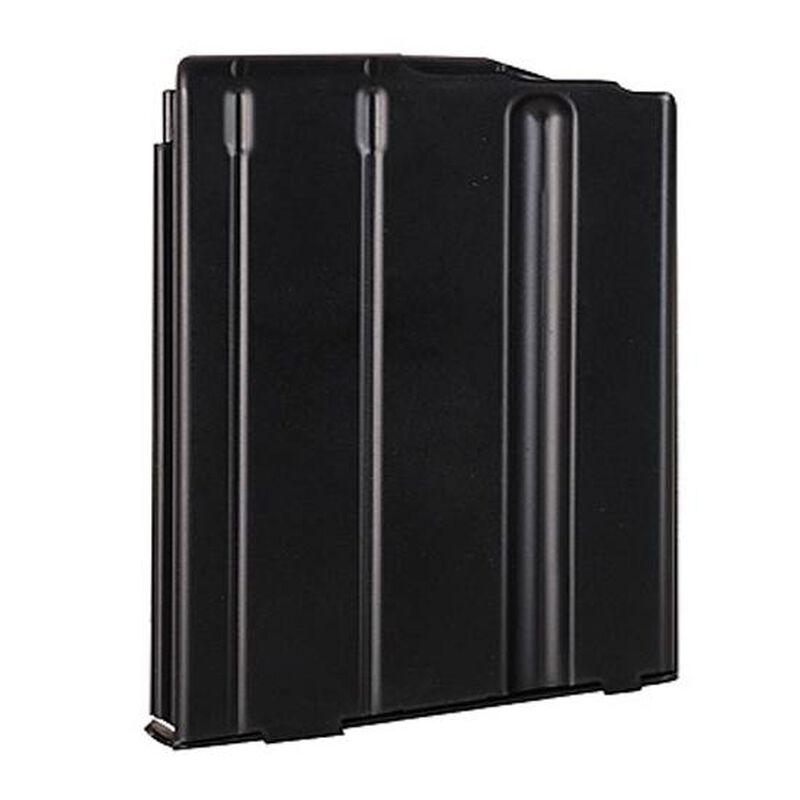 ASC LR-308/SR-25 Magazine .308/7.62 5 Rounds Stainless Steel Black 5-308-SS-BM-B-ASC