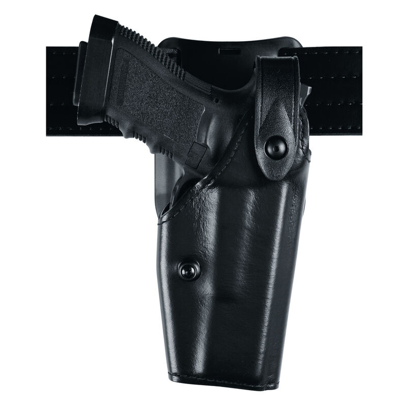 Safariland Model GLOCK 21SF with Rail Low Ride SLS Level II Duty Holster Right Hand STX Tactical Black 6285-383-131