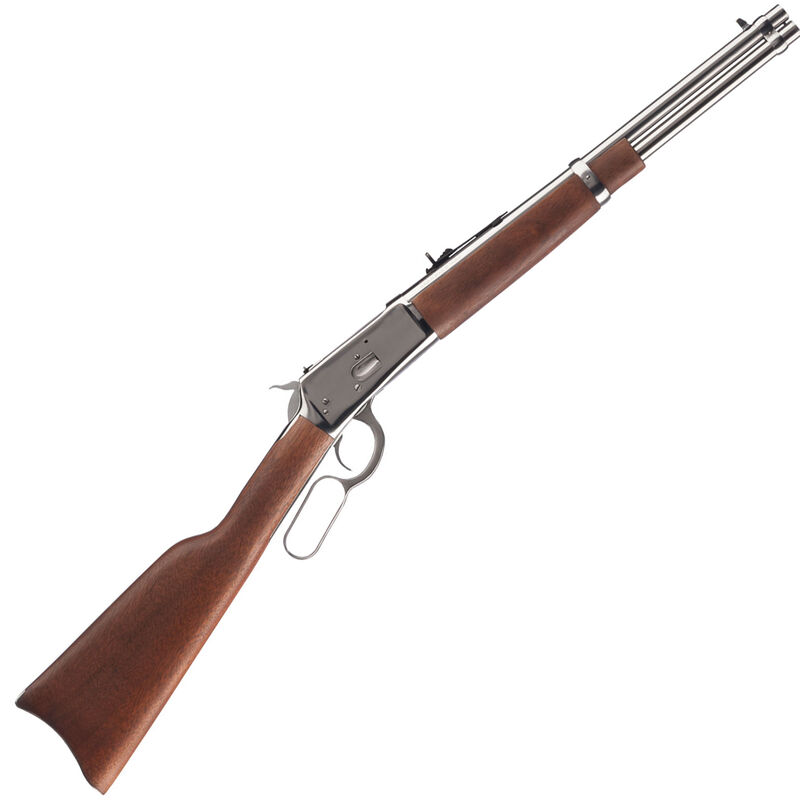 """Rossi Model R92 Carbine .45 Long Colt Lever Action Rifle 16"""" Barrel 8 Rounds Wood Stock SS Finish"""