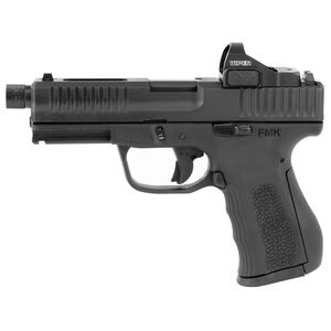 "FMK 9C1 Elite Pro Plus Semi Auto Pistol 9mm Luger 4.5"" Threaded Barrel 14 Rounds Vortex Red Dot Black"