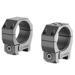 Audere PSR Scope Rings Gen 2 Picatinny Attachment 30mm Extra Low 0 MOA Aluminum Black 2 Rings