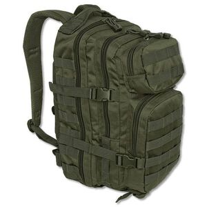 MIL-TEC Level III Assault Pack Olive Drab Heavy Duty 600 Denier Polyester Construction 14002001