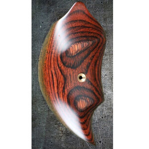 Bond Arms Factory Replacement Derringer Extended Jumbo Smooth Plain Laminated Wood Rosewood Grip