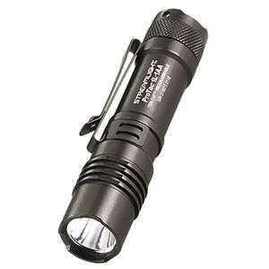 Streamlight ProTac 1L-1AA Flashlight LED 350 Lumen Tail Switch CR123A/AA Anodized Aluminum Black