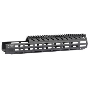 """Midwest Industries SIG Sauer MPX 14"""" One Piece Drop In M-LOK Compatible Hand Guard 6061 Aluminum Hard Coat Anodized Finish Matte Black"""