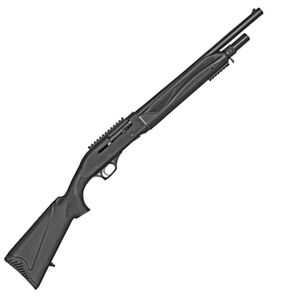 """SDS Imports AR-T02 12 Gauge Semi-Auto Shotgun 18.5"""" Barrel 3"""" Chamber 5 Rounds Blade Front Sight Synthetic Stock Black Finish"""