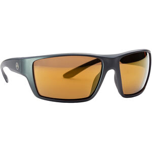 Magpul Terrain Shooting Glasses Gray Frame Polarized Anti-Reflective Bronze/Gold Mirror Lenses