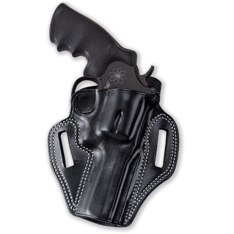 Galco Combat Master S&W N Frame Model 27/28/29/329 .357 Mag & .44 and Similar Belt Slide Right Hand Leather Black