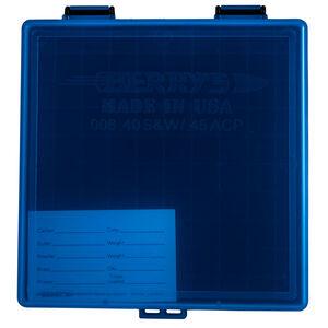 Berry's Ammo Box .40/45 ACP/10mm 100 Round Polymer Blue/Black