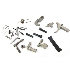 WMD Guns AR-15 Lower Parts Kit Mod 2 Expanded NiB-X Parts No Pistol Grip Nickel Boron NIBXLPKM2