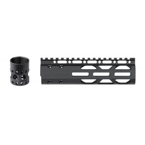 "ATI AR-15 Free Float Forend 7"" Slim Package 6061-T6 Aluminum Hard Coat Anodized Matte Black Finish"
