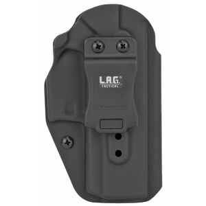 LAG Tactical Liberator MK II Series OWB/IWB Holster for SIG Sauer P320C 9/40 Models Ambidextrous Draw Kydex Construction Matte Black Finish