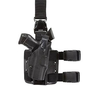 Safariland Model 6305 Tactical Holster with Quick Release Leg Harness Right Hand GLOCK 20, 21 STX Tactical Black Finish 6305-3832-131