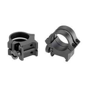 """Weaver Quad Lock Detachable 1"""" Tip Off Rings Aluminum Matte Black"""