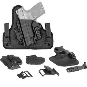 Alien Gear ShapeShift Core Carry Pack Fits GLOCK 43 Modular Holster System IWB/OWB Multi-Holster Kit Left Handed Black