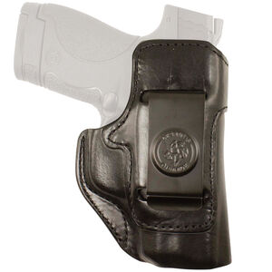 DeSantis Inside Heat Fits Kimber Micro 9 Belt Clip Holster Right Hand Leather Black