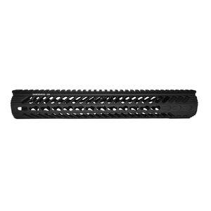 "Diamondhead VRS X Free Floating Handguard 10.5"" KeyMod Rail Aluminum Black 2115"