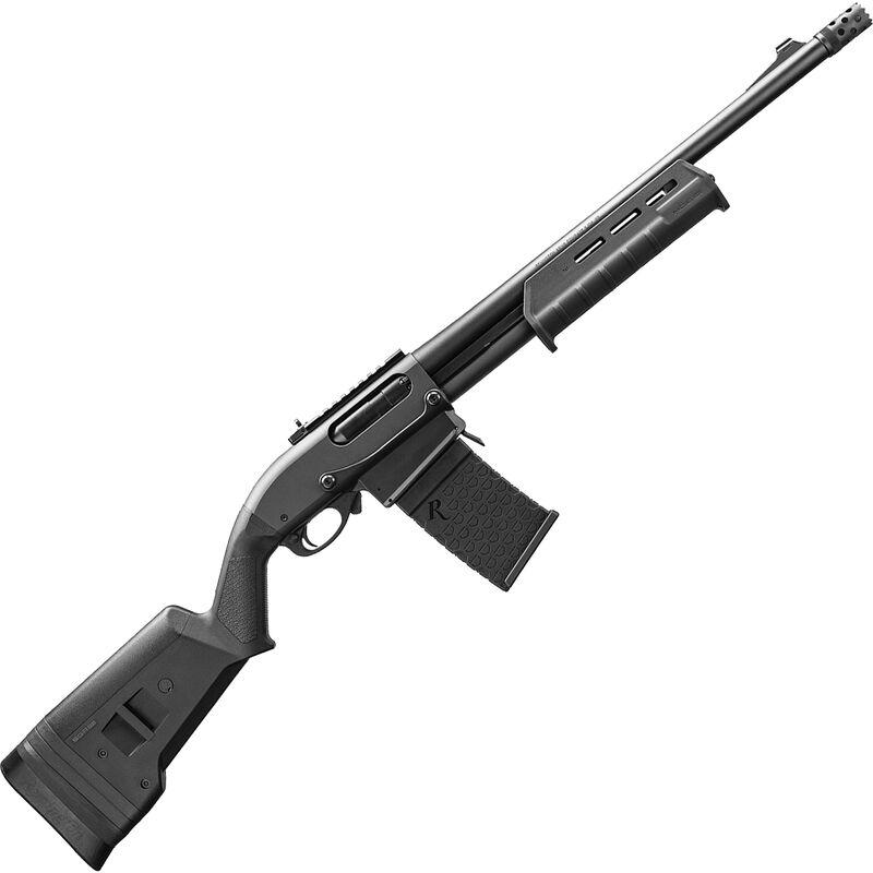 "Remington Model 870 DM Magpul Pump Action Shotgun 12 Gauge 6 Rounds 18.5"" Barrel 3"" Detachable Box Magazine Magpul SGA Stock/Forend Matte Blued Finish"